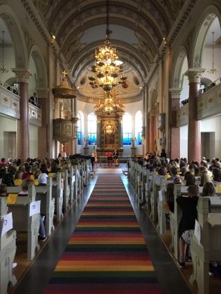 Avslutning i kyrkan vt2017